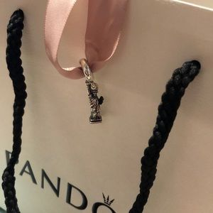 NYC Statue of Liberty Pandora Charm